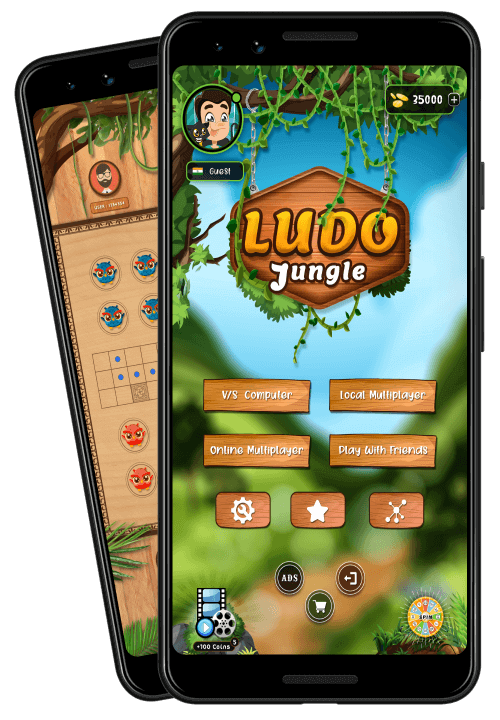 Ludo Jungle - King of Ludo & Online Ludo Game